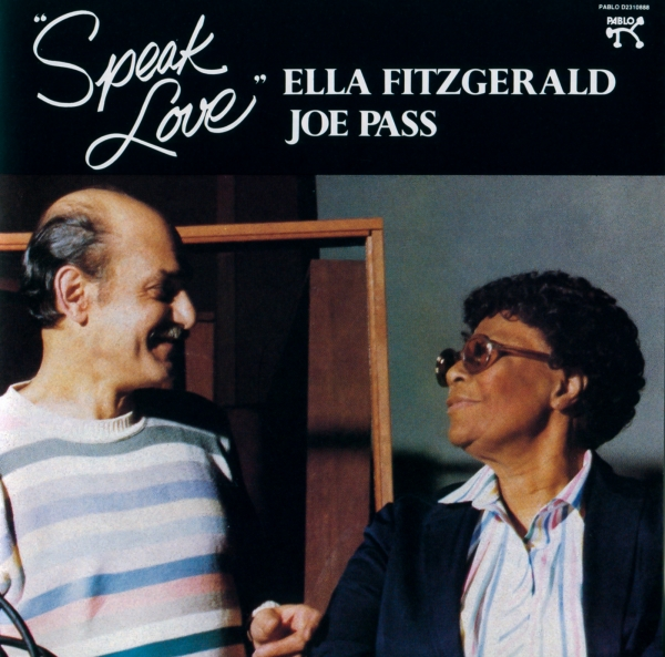 Joe Pass Speak Love cover art