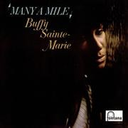 Buffy Sainte-Marie Many a Mile cover art