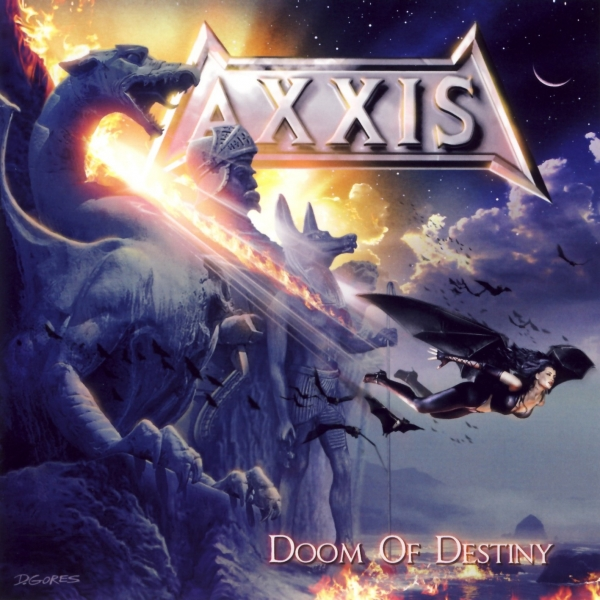 Axxis Doom of Destiny cover art