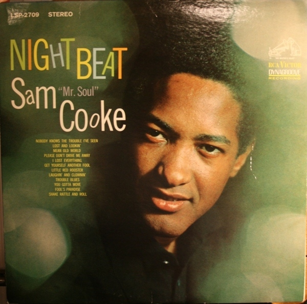 Sam Cooke Night Beat cover art
