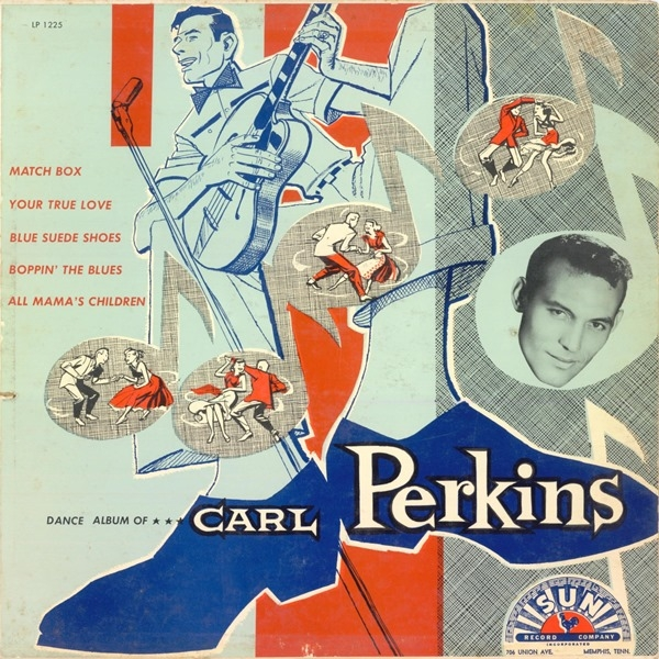 Carl Perkins Dance Album of… Carl Perkins cover art