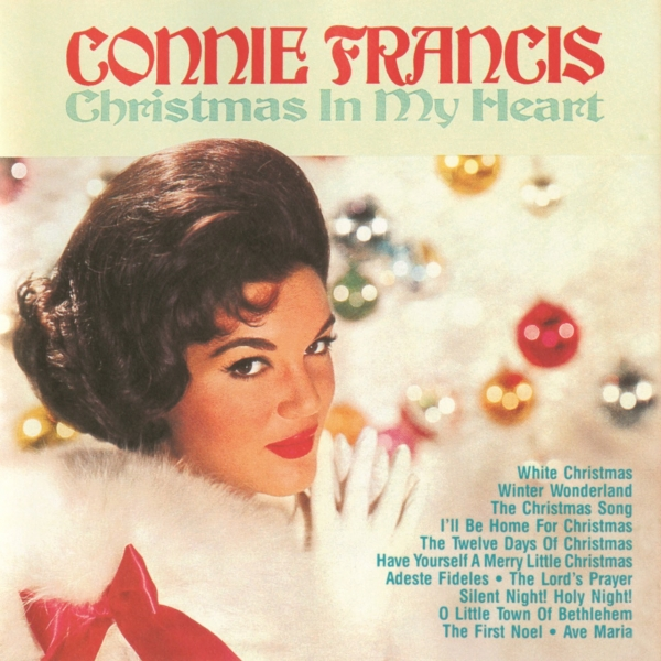 Connie Francis Christmas in My Heart cover art
