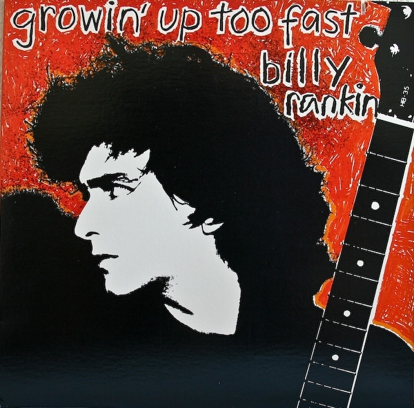Billy Rankin Growin' Up Too Fast cover art