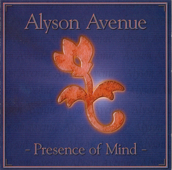 Alyson Avenue Presence of Mind Cover Art