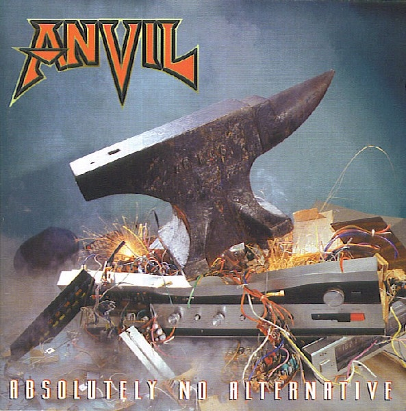 Anvil Absolutely No Alternative cover art