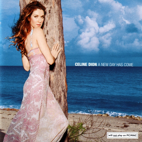 Céline Dion A New Day Has Come cover art
