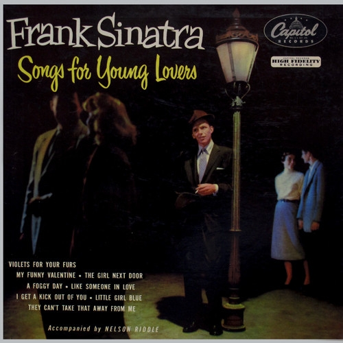 Frank Sinatra Songs for Young Lovers cover art
