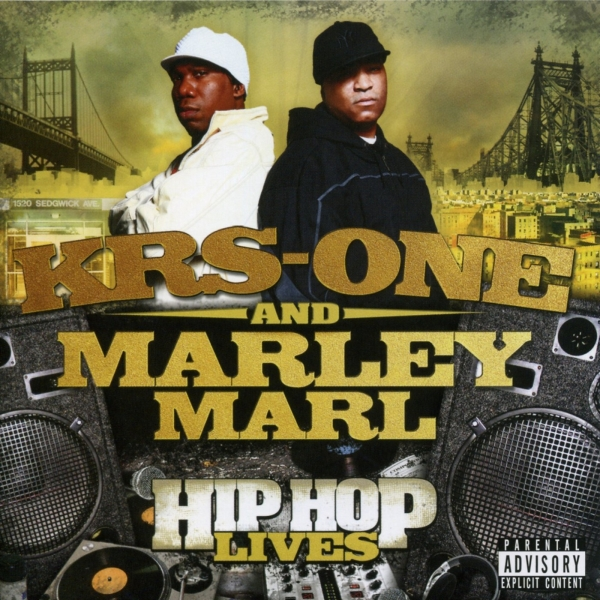 KRS‐One & Marley Marl Hip Hop Lives Cover Art