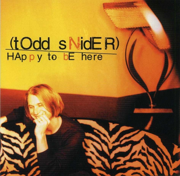 Todd Snider Happy to Be Here Cover Art