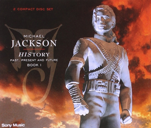 Michael Jackson HIStory: Past, Present and Future, Book I Cover Art