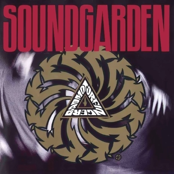 Soundgarden Badmotorfinger cover art