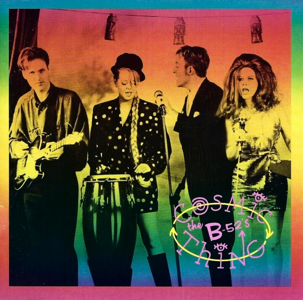 The B‐52s Cosmic Thing cover art
