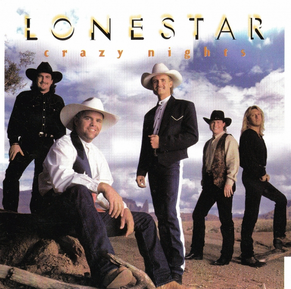 Lonestar Crazy Nights cover art