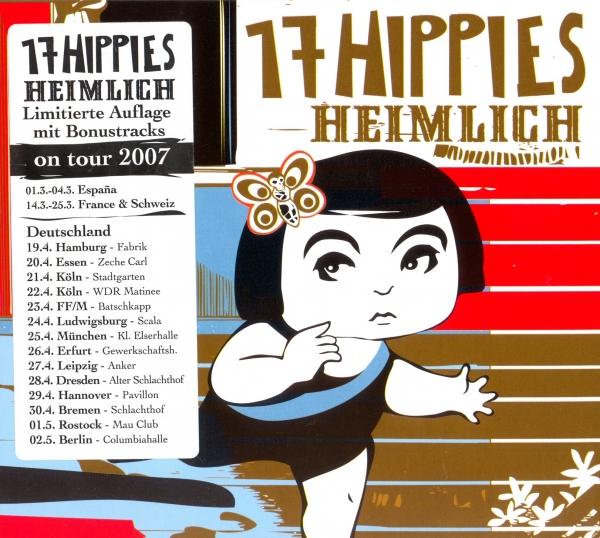 17 Hippies Heimlich Cover Art