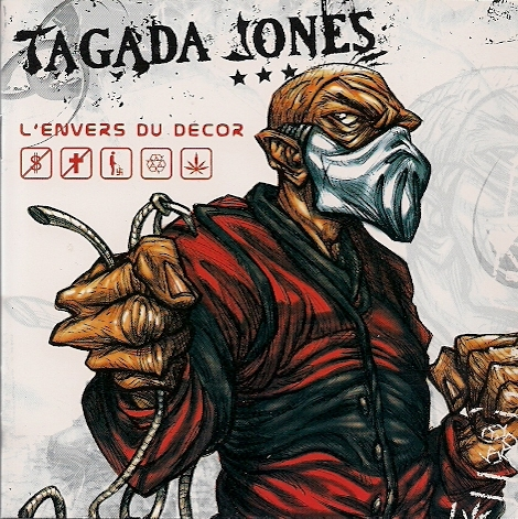 Tagada Jones L'Envers du décor cover art