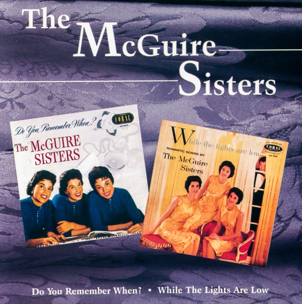 The McGuire Sisters  cover art
