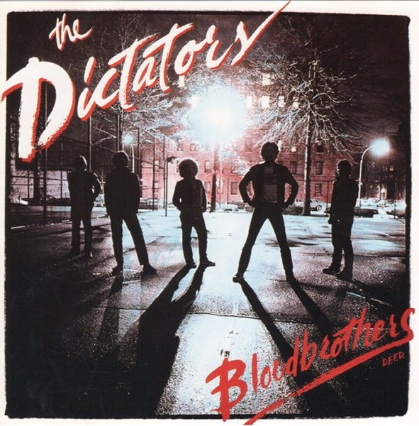The Dictators Bloodbrothers cover art