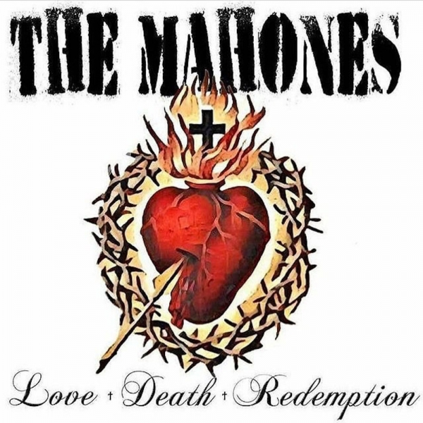 The Mahones Love + Death + Redemption Cover Art