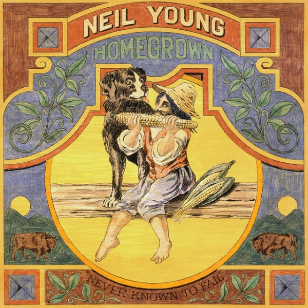 Neil Young Vacancy Cover Art