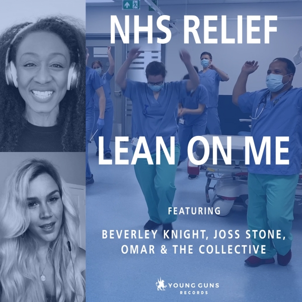 Beverley Knight, Joss Stone & Omar Lean on Me Cover Art