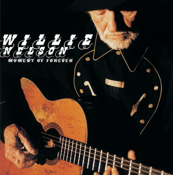 Willie Nelson Moment of Forever cover art