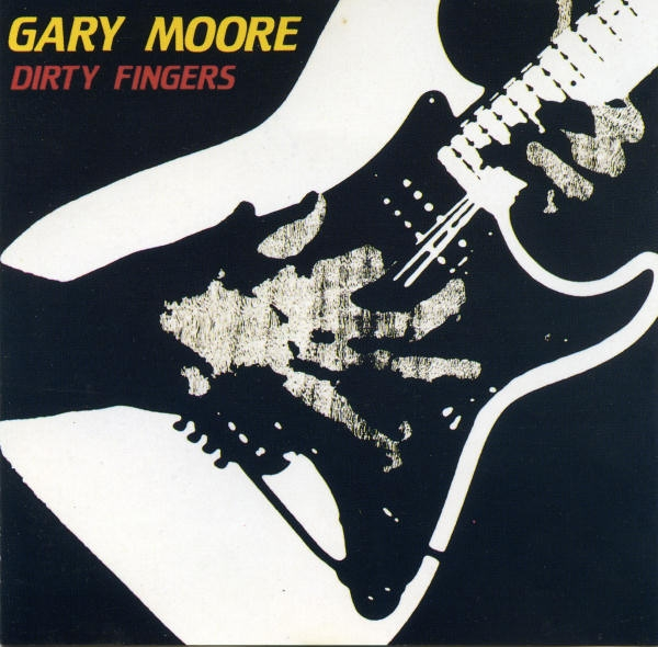 Gary Moore Dirty Fingers cover art
