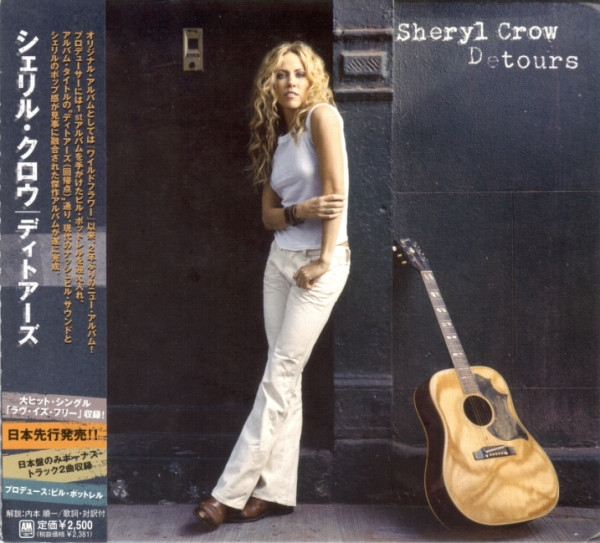 Sheryl Crow Detours cover art