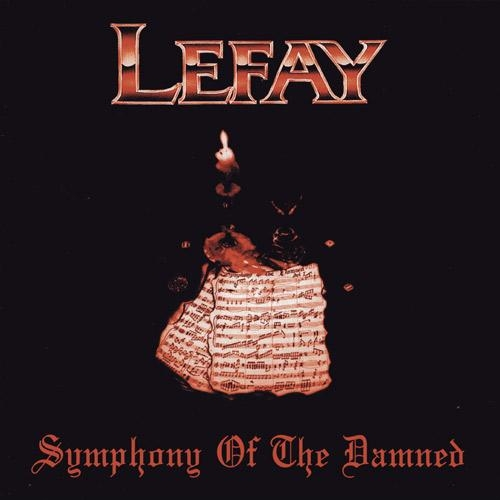 Lefay Symphony of the Damned Cover Art