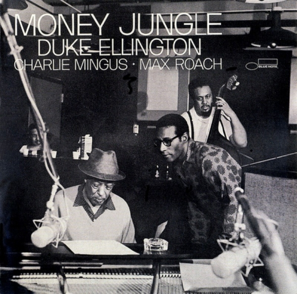 Duke Ellington with Charles Mingus and Max Roach Money Jungle Cover Art