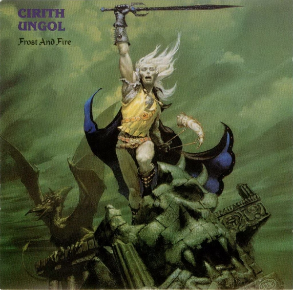 Cirith Ungol Frost and Fire cover art