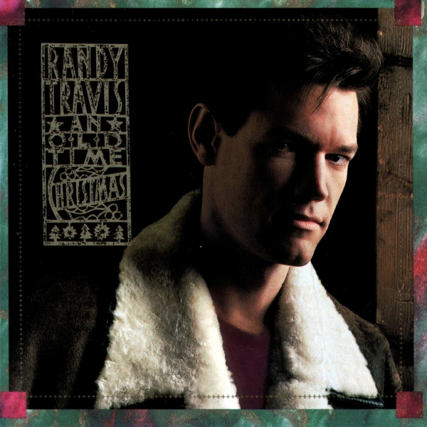 Randy Travis An Old Time Christmas cover art