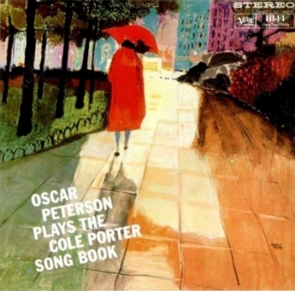 Oscar Peterson Oscar Peterson Plays the Cole Porter Songbook Cover Art