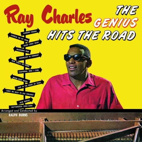 Ray Charles The Genius Hits the Road cover art