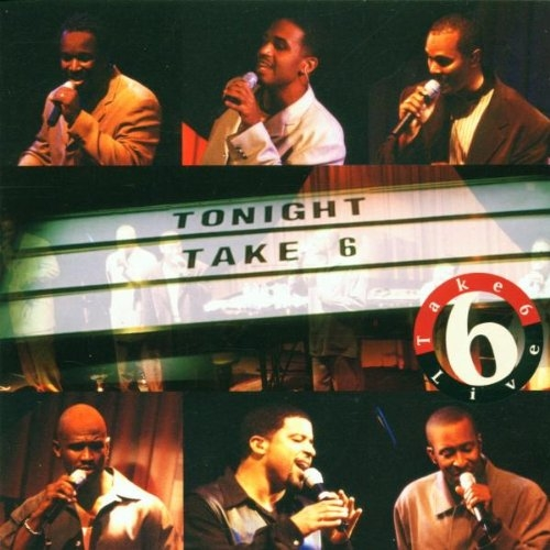 Take 6 Tonight: Live cover art