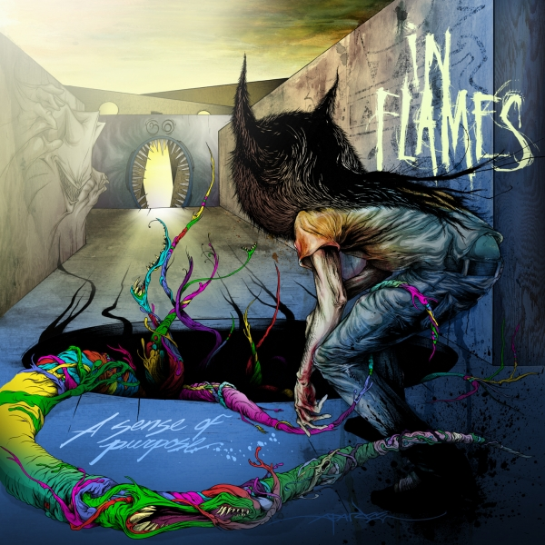In Flames A Sense of Purpose cover art