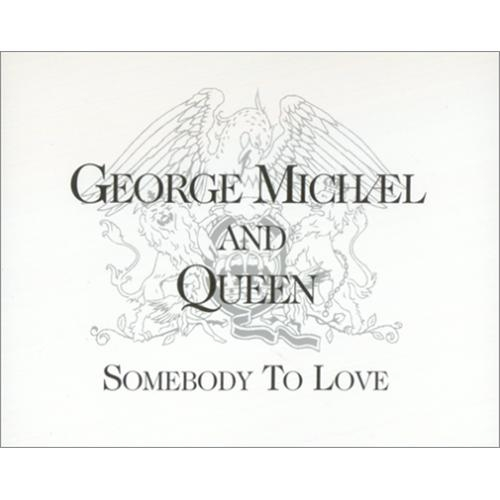 George Michael and Queen Somebody to Love Cover Art