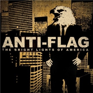 Anti‐Flag The Bright Lights of America Cover Art