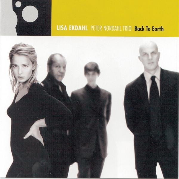 Lisa Ekdahl / Peter Nordahl Trio Back to Earth Cover Art