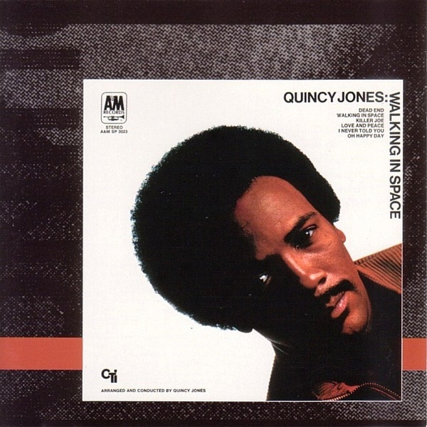 Quincy Jones Walking in Space cover art
