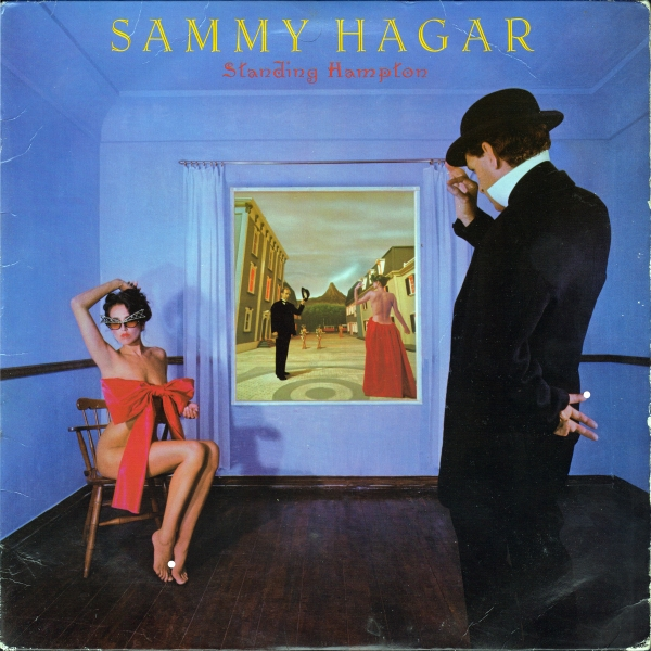 Sammy Hagar Standing Hampton cover art