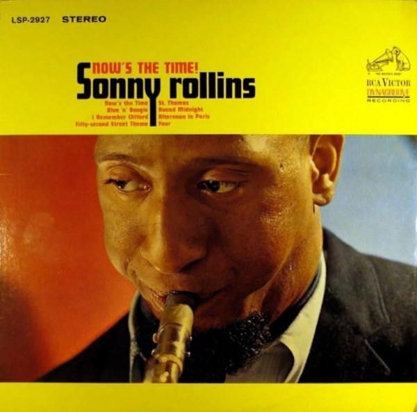 Sonny Rollins Now's the Time! Cover Art