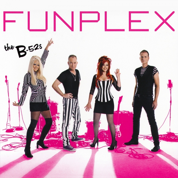The B‐52s Funplex Cover Art