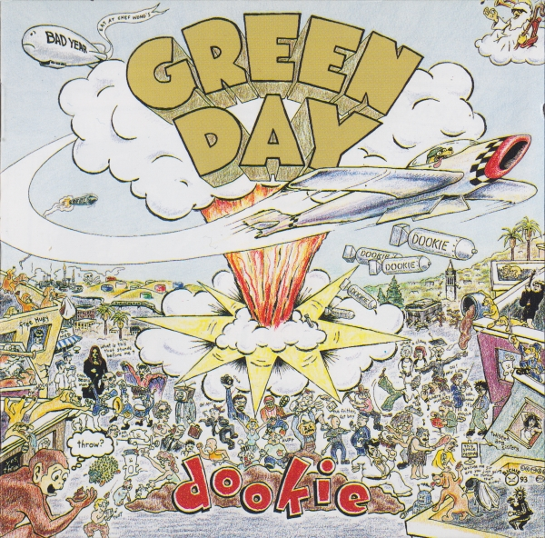 Green Day Dookie cover art