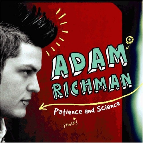 Adam Richman Patience and Science cover art