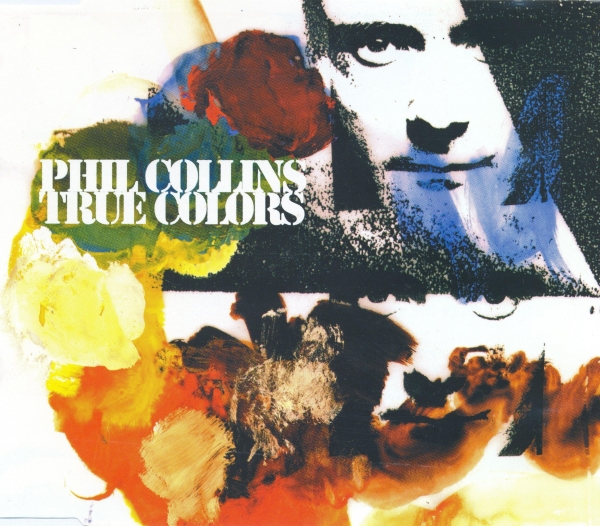 Phil Collins True Colors cover art