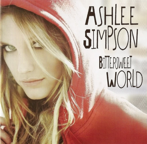 Ashlee Simpson Bittersweet World cover art