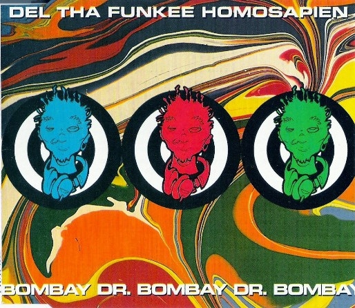 Del the Funky Homosapien Dr. Bombay Cover Art