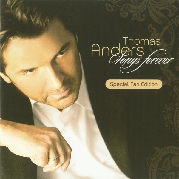 Thomas Anders Songs Forever cover art
