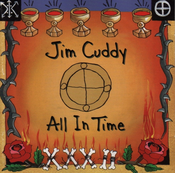 Jim Cuddy All in Time cover art