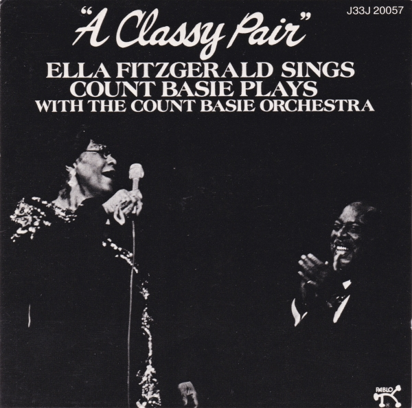 Ella Fitzgerald & The Count Basie Orchestra A Classy Pair Cover Art